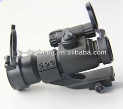 1x32 tactical red dot sight with covers and mount