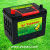 55D23RMF 12V60AH Sealed Lead Acid Bulk Car Battery