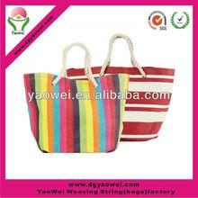 Hot sale High quality 100% 16oz Cotton canvas beach bag/tote bag