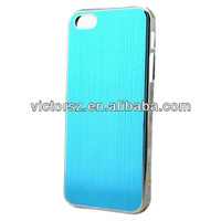 For iPhone 5 Back Case Cover Aluminum,Brushed Phone Back Case Cover