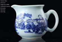 """Chinese Kids Playing"" Blue & White Porcelain Pitcher, 210cc/pitcher"