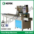 fluxo horizontal médica atadura cirúrgica máquina de embalagem de fábrica