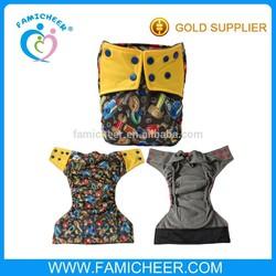2014 Famicheer New Arrival Print Cloth Diaper