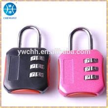 Gym locker combination padlock good quality zinc alloy padlock