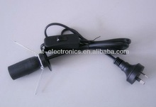 lamp cord with inline switch