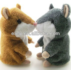 2013 novelty voice recording hamster/repeat hamster/talking hamster plush toy