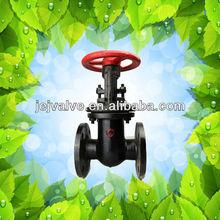 DIN flanged cast iron GG25 globe valve/stop valve PN16