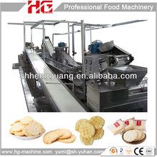 good tasty full automatic baked rice cracker machine