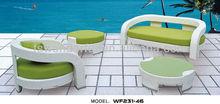WF231-46 garden sofa,rattan sofa set,outdoor furniture