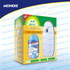 Wall mounted air freshener dispenser and refill full set