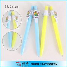 clip customized low price 2015 plastic pen