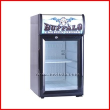 SC21B Mini Display cooler Glass Door, Counter top Fridge