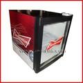 52l mini bar cooler, geladeira porta de vidro, compressor de geladeira