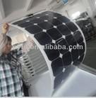HOT SALES!!! 100W semi-flexible American sunpower panel solar price/solar panel/solar power with TUV IEC CE ROHS certified