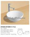 Encimera, fregadero, pileta, bol pequeño de porcelana (Russell 8184B)