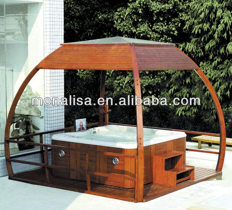 gazebo jardim madeira:gazebo de madeira composto plástico de madeira arbor jardim móveis