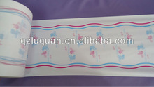 Colorful Breathable baby diaper Film