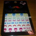 Girls sticker fashion stamping nail arts