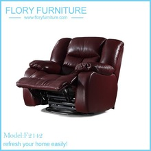 classic italian furniture recliner sofa F2142
