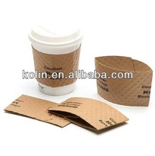 8-20oz disposable printed paper coffee cup sleeve