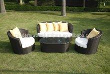 2012 New Ratan Outdoor Furniture sofa design- Corner Sofa Muebles