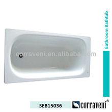 cheap drop in enamel steel bathtub SEB15036