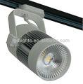 Led 32w carril de la pista del techo la luz del punto tienda downlight caliente de la lámpara/puro