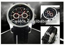 sport style men silicone sanda watch