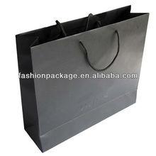 Large Black Paper Shopping Bag