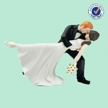 Custom Romantic Kissing Couple Cake Topper Wholesale Wedding Decor