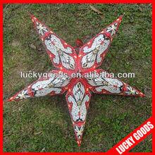 indian fashion printing star lantern