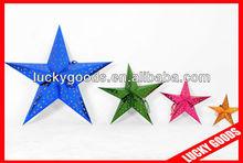 new style fasion christmas star paper lantern
