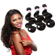 Free Shipping 3 Bundles 6A Wholesale Brazilian Hair Weave Body Wave 100% Virgin Brazilian Hair