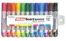 Whiteboard Marker 12 Color Set