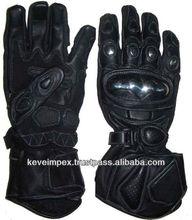 Genuine cow hide leather gloves. Motorbike gloves. Racing gloves . Motorcycle gloves. , Gauntlet gloves