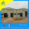 prefabricated steel frame sandwich panel house(CHYT-S3010)