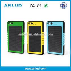 New design ALD-P02 5000mah solar power bank