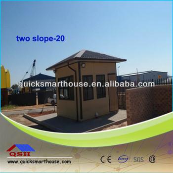 Economic eco friendly small prefab houses