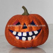 Halloween Hot Sale glitter Pumpkin decoration