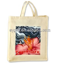 recycled canvas craft tote bags