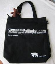 OEM printed unbleached cotton tote bag