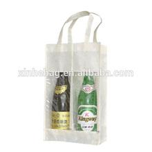 100% Recycled Fabric 6 Bottles or 4 Bottles or 2 Bottles Wine Bag