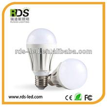 AC85-265v 6063+Aluminium 7W Factory Wholesale Price 500-550lm High brightness led adapter bulb gu10 to e27