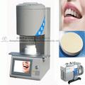 uniforme de la temperatura de laboratorio de la clínica dental horno de porcelana