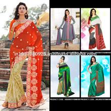 All Type of indian Pakistani Designer Saree / Sari At Wholesale Price