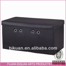 Best quality creative moroccan leather pouf ottoman footstool