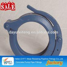 on sale cif concrete pump clamp on pipe sanp coupling concrete pump rubber hose clamp,fuel line hose clamps,thin hose clamps