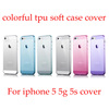 colorful designs for iphone 5 tpu case cover soft cover case