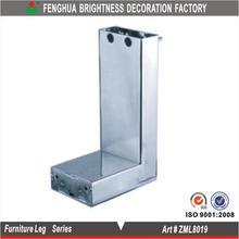chrome decorative metal furniture legs/IS09001:2008