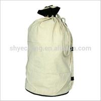 high quality custom drawstring cotton gift bags (YC1780)